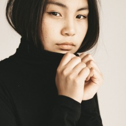 Диана  Мархаева  - модель Иркутска