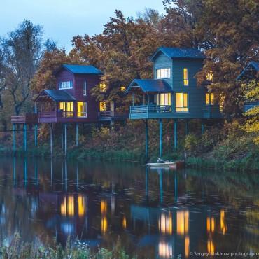 Фотография #294302, автор: Дом над рекой