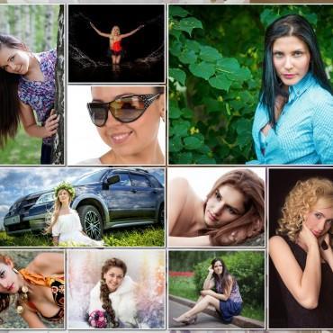 Альбом: Фотоколлаж, 50 фотографий
